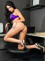 Raven Bay & Johnny Castle in Naughty Office - Centerfold