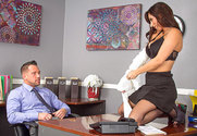 Reena Sky & Johnny Castle in Naughty Office - Sex Position 1