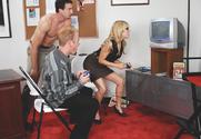 Sindee Jennings & Jenner & Jordan Ash in Naughty Office story pic