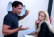 Tanya James & Marco Banderas in Naughty Office - Sex Position 1