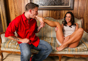 Jada Stevens  & Mr. Pete in Naughty Rich Girls - Sex Position 1