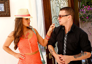 Teal Conrad & Mr. Pete in Naughty Rich Girls story pic