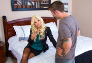 Brittany Andrews & Axel Aces in Seduced by a Cougar - Sex Position 1