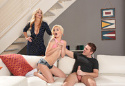 Elsa Jean & Julia Ann & Ryan Ryder in Seduced By A Cougar