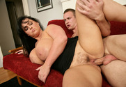 Indianna Jaymes & Scott Stone in Seduced by a Cougar - Sex Position 2