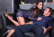 Jessica Jaymes & Chad White in Seduced by a Cougar - Sex Position 1