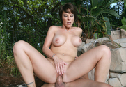 Kayla Synz & Chris Johnson in Seduced By A Cougar sex pic