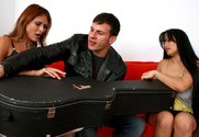 Mason Storm, Monique Fuentes & Anthony Rosano in Seduced by a Cougar - Sex Position 1