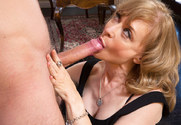 Nina Hartley & Danny Wylde in Seduced by a cougar - Sex Position 2