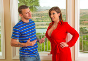 Sara Jay & Mr. Pete in Seduced by a cougar - Sex Position 1