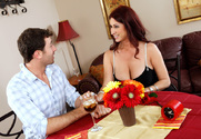 Tiffany Mynx & James Deen in Seduced By A Cougar story pic