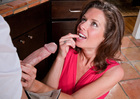 Veronica Avluv & Johnny Sins in Seduced by a cougar -  Blowjob
