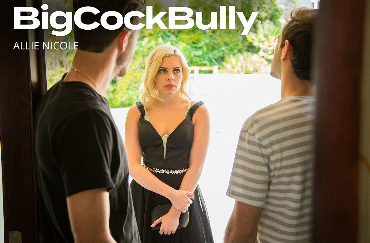 Watch Allie Nicole and Lucas Frost video in Big Cock Bully