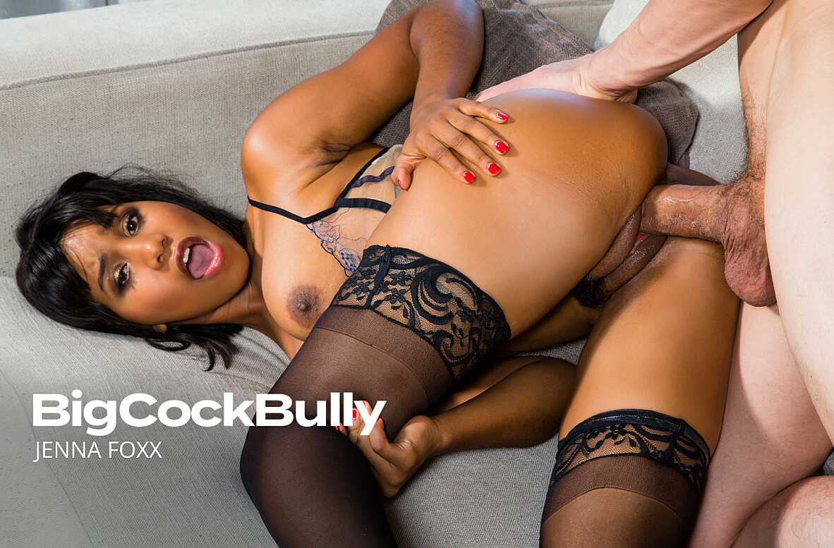 Watch Jenna Foxx and Bruce Venture video in Big Cock Bully