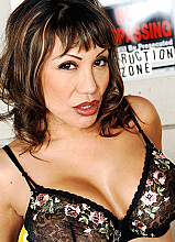 Ava Devine fucking in the construction site with her tits