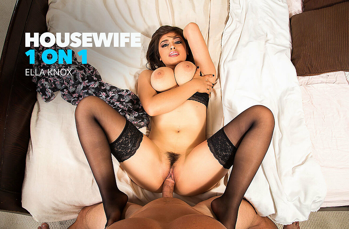 Watch Ella Knox and Ryan Driller 4K video in Housewife 1 on 1