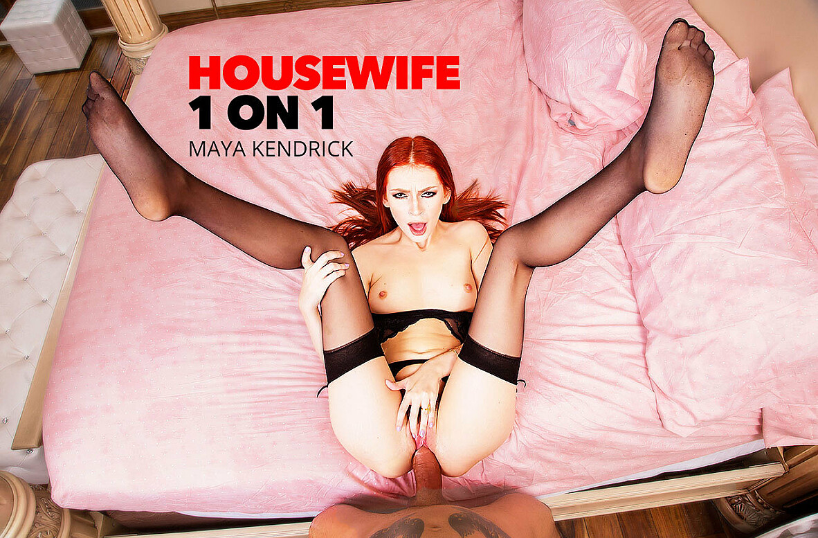 Watch Maya Kendrick and Alex Legend 4K video in Housewife 1 on 1
