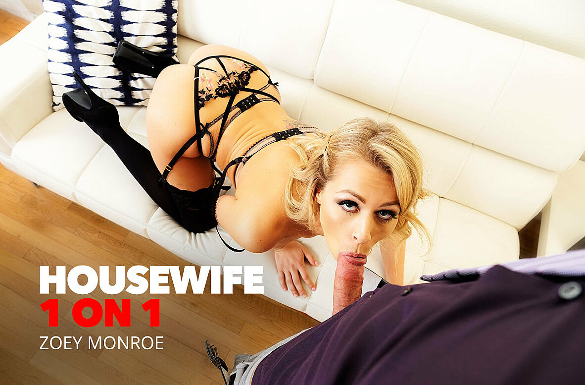 Watch Zoey Monroe and Johnny Castle 4K video in Housewife 1 on 1