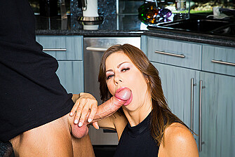 Alexis Fawx Rides A Huge Young Cock  - Sex Position 2