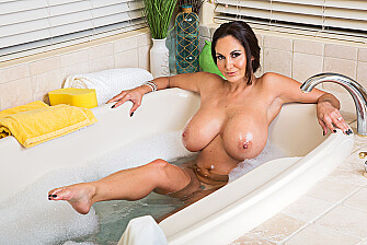 Ava Addams fucking in the bathroom with her bubble butt - Sex Position 1