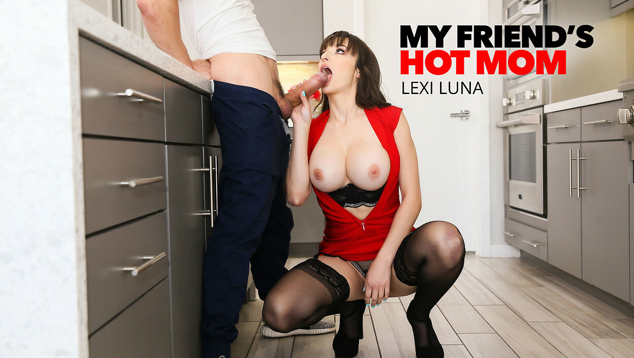 Married MILF Lexi Luna Takes on Heavy Hitter Cock
