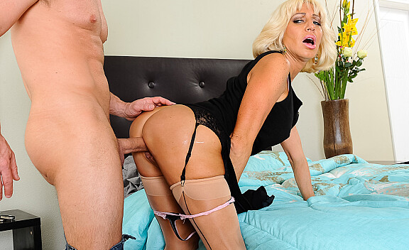 Tara Holiday fucking in the bedroom with her medium ass - Sex Position #3