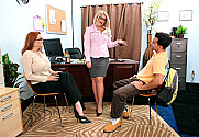 Cali Chase & Kitti Lynxxx & Mikey Butders in My First Sex Teacher