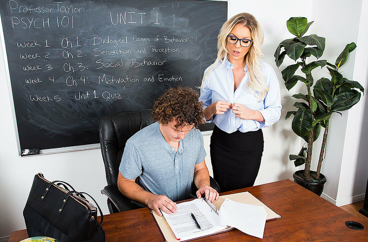 Watch Kenzie Taylor and Robby Echo video in My First Sex Teacher