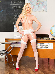 Professor & Teacher Porn Video with American and Ass licking scenes