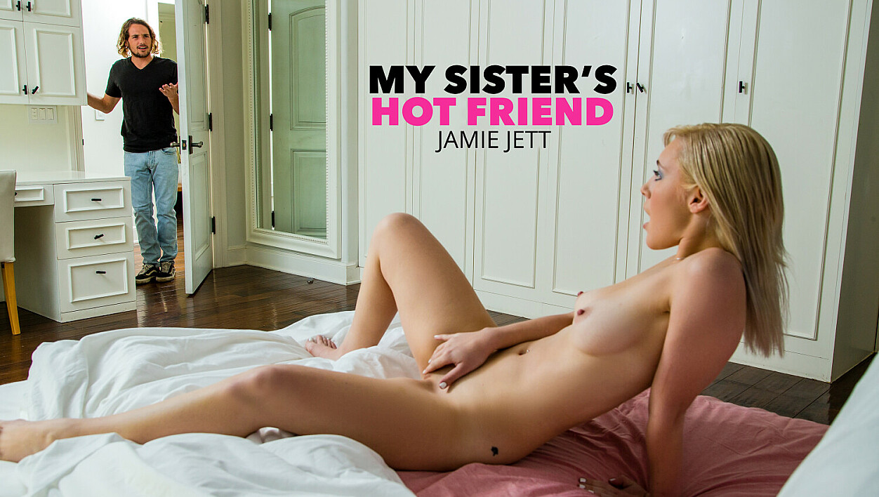 Jamie Jett decides to go ahead and be a bit naughty with her friend's brother after he sees her naked