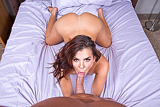Keisha Grey fucking in the bedroom with her petite vr porn - Sex Position 3