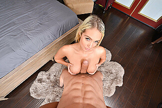 Athena Palomino fucking in the bedroom with her tits vr porn - Sex Position 1