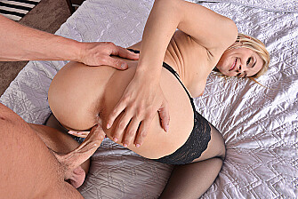 Sarah Vandella fucking in the bed with her medium ass - Sex Position 3
