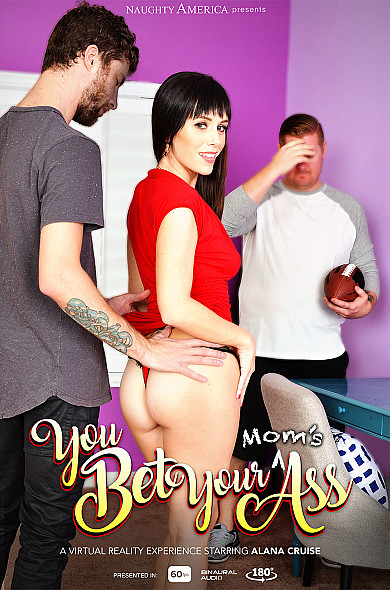 Watch Alana Cruise enjoy some American and Ass smacking!