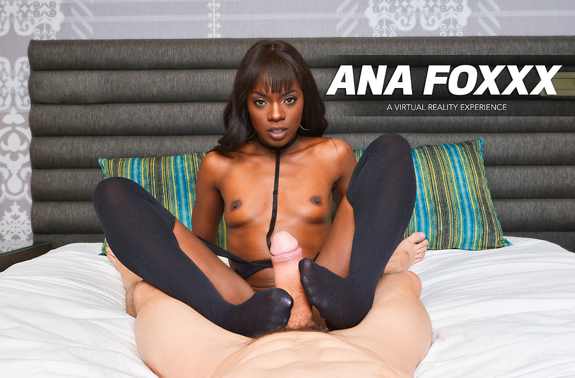 Watch Ana Foxxx and Bambino VR video in Naughty America