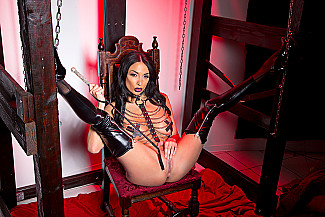 Anissa Kate fucking in the basement with her black hair - Sex Position 2