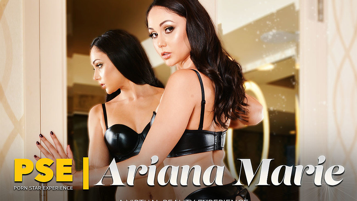 Get your dick wet with the svelte and sexy Ariana Marie