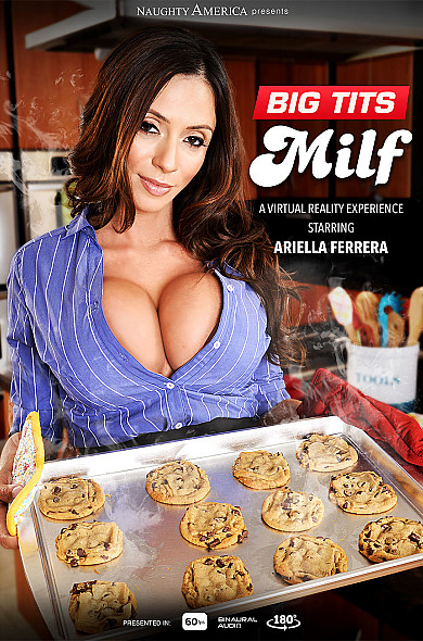 Watch Ariella Ferrera enjoy some American and Big Fake Tits!