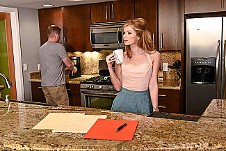 Arya Fae fucking in the kitchen with her tattoos vr porn - Sex Position 2