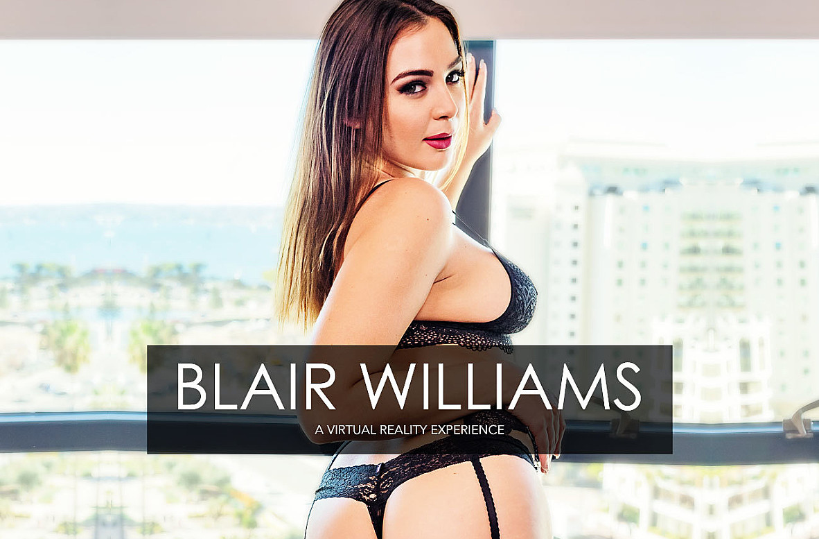 Watch Blair Williams and Ryan Driller VR video in Naughty America