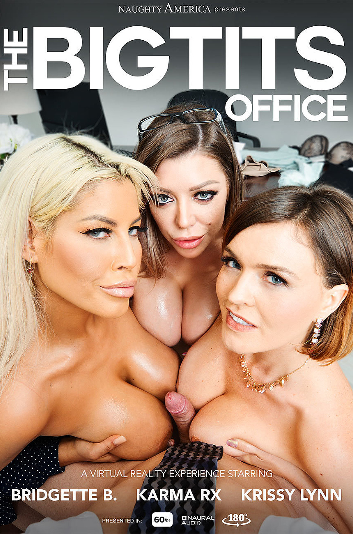 Watch Bridgette B., Karma Rx, Krissy Lynn and Brad Sterling VR video in Naughty America