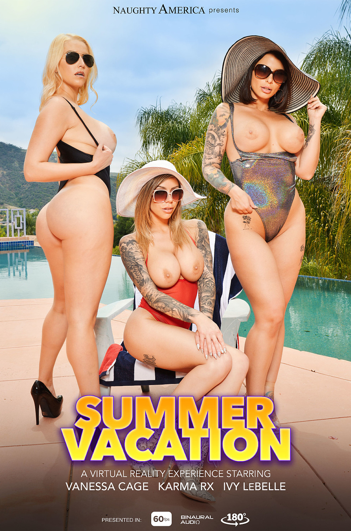 Watch Ivy LeBelle, Karma Rx, Vanessa Cage and Ryan Driller video in Naughty America