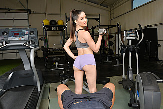 Jenna J Ross fucks you in the gym - Sex Position 1