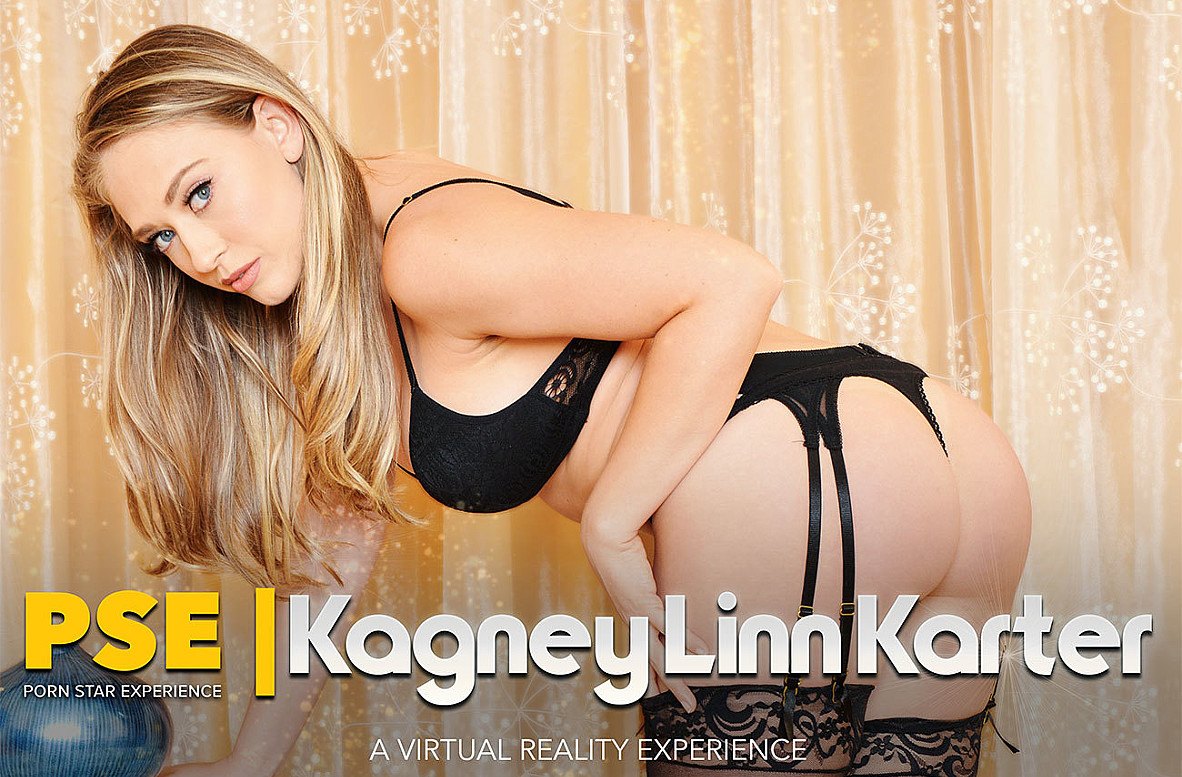 Watch Kagney Linn Karter and Johnny Castle VR video in Naughty America