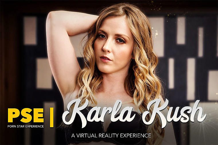 Natural blonde Karla Kush is Back and Bangin' You in VR porn