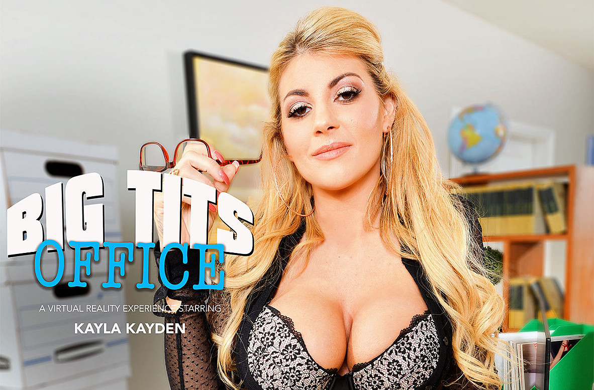 Watch Kayla Kayden and Ryan Driller VR American video in Naughty America