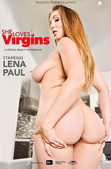 Watch Lena Paul enjoy some American and Big Natural Tits!