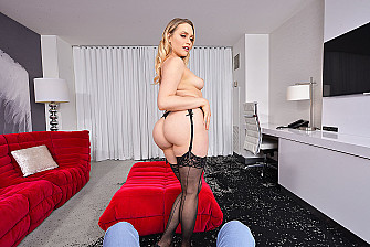 Mia Malkova's 3rd VR Porn Star Experience Is A Big Ass Deal - Sex Position 1