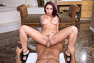 Monique Alexander fucking in the bar with her tits vr porn - Sex Position 4