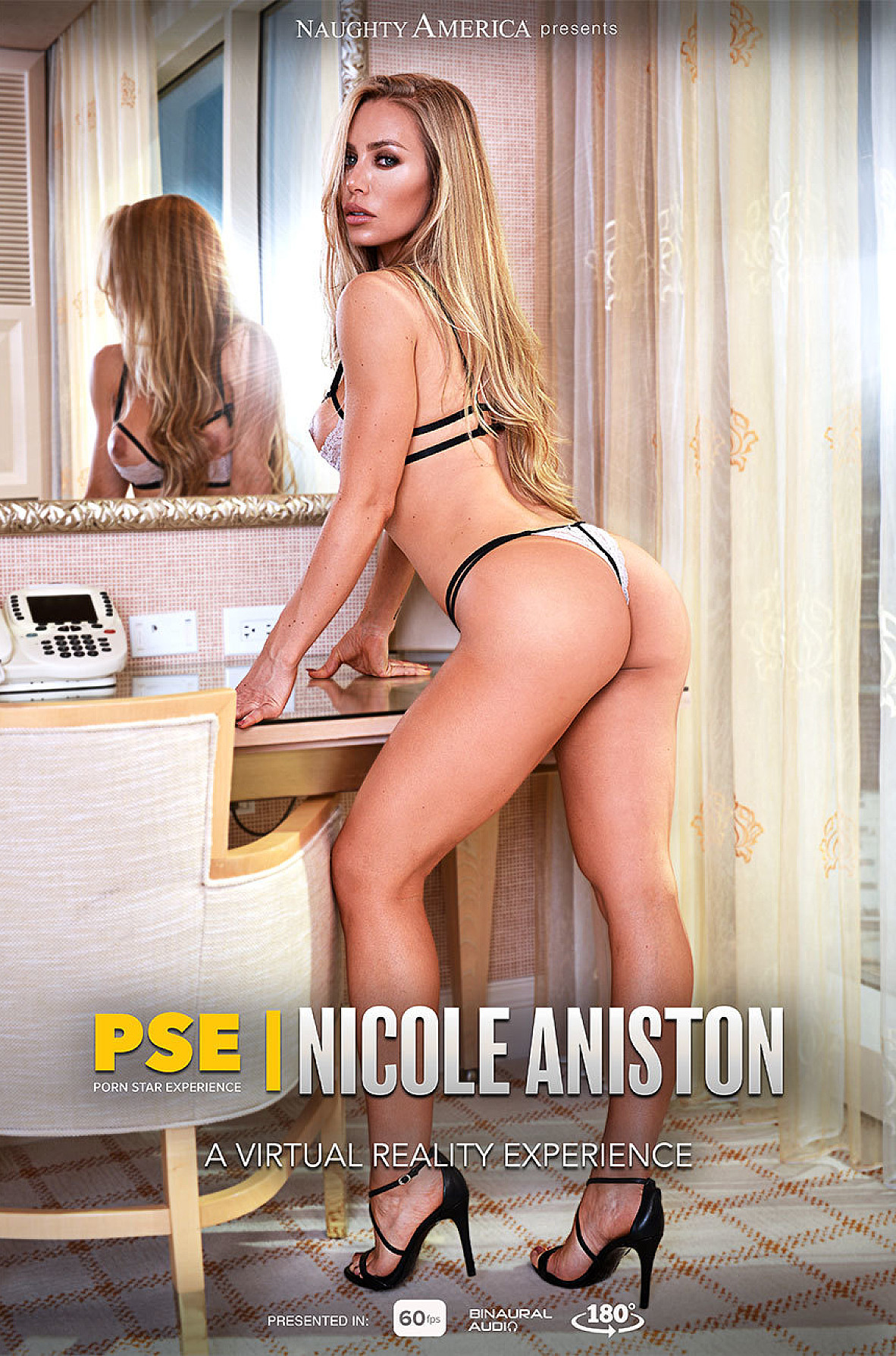 Watch Nicole Aniston and Charles Dera VR video in Naughty America